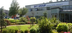 NVT Group office facade in sunshine