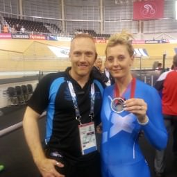 Meeting silver medallist at the Velodrome
