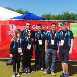 NVT Group support team at Kelvingrove Lawn Bowls