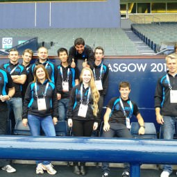 NVT Players team photo taken at Hampden