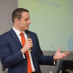 David Grevemberg speaking at the NVT Players Post Games Graduation Bash - September 2016