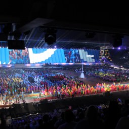 Glasgow 2014 Commonwealth Games Opening Ceremony - welcome Team Scotland