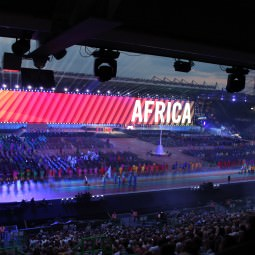 Glasgow 2014 Commonwealth Games Opening Ceremony - welcome Africa