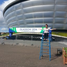 Gemma Kilpatrick outside The SSE Hydro